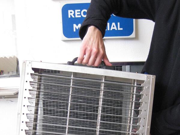 Limpieza filtros cocinas industriales