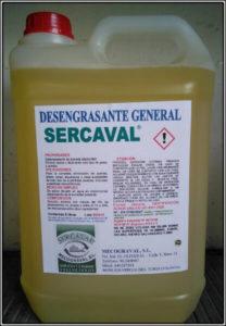 Desengrasante General SERCAVAL